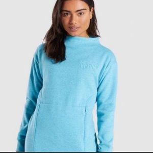 Blue gymshark hoodie NWT